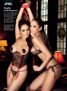 Emma Frain & Kelly Andrews Nuts UK Pics